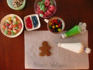 making and decorating GINGERBREAD Cookies