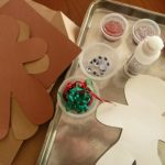 GINGERBREAD men art project