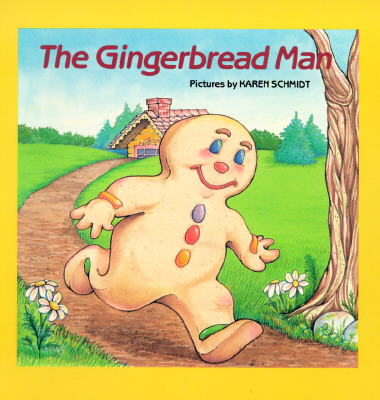 The Gingerbread Man (4 Unique Gingerbread Stories)