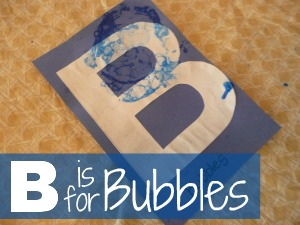 b is for bubbles