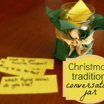 start a new CHRISTMAS tradition. . .conversation jar