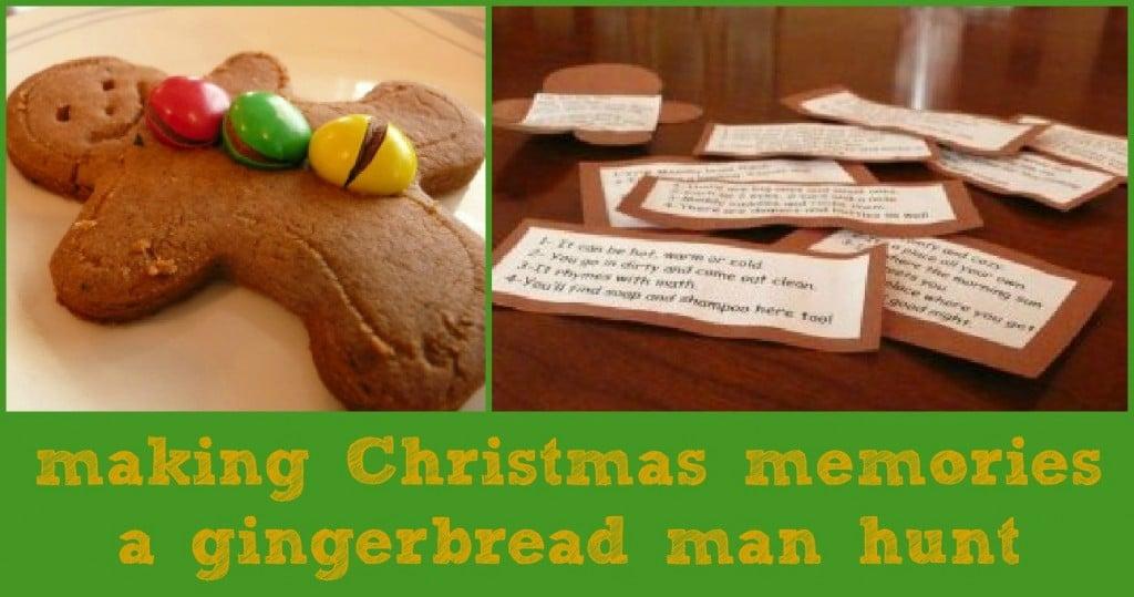 GINGERBREAD Man Hunt gingerbread man activity