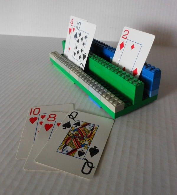 Lego card holder