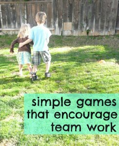 Building FRIENDSHIP with teamwork games