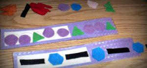 DIY Shapes Pattern Boards