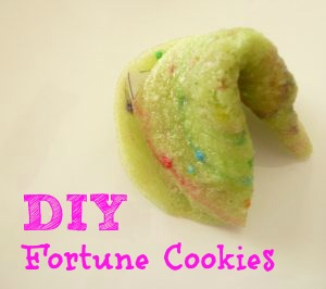 Make your own fortune cookies for Valentines! FUN!