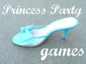 Cinderella's Lost Slipper Party Game by a Mom with a lesson Plan