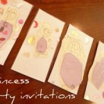 PRINCESS PARTY invitations for my little princess