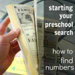 How to Choose a Preschool Series…Part 1