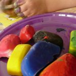 Letter I Activity: Ice Painting