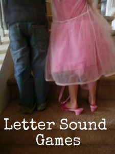 Letter sounds (done)