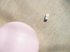 count and move with BALLOON DICE