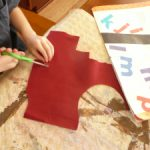 LETTER ACTIVITIES ~ chicka chicka boom boom flannel story