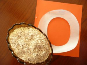 Letter of the week ~ O ~ Oats