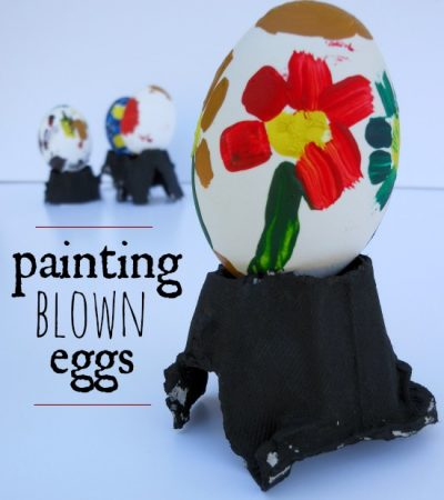 Creative Easter Egg Painting for Kids