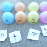 get ready for Easter with EASTER egg number hunt