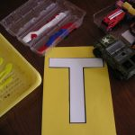 Letter of the Week ~ Letter T ~ Tracks