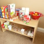 pretend play homemade GROCERY store