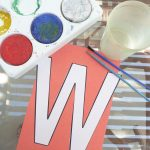 Letter of the Week ~ W ~ Watercolor