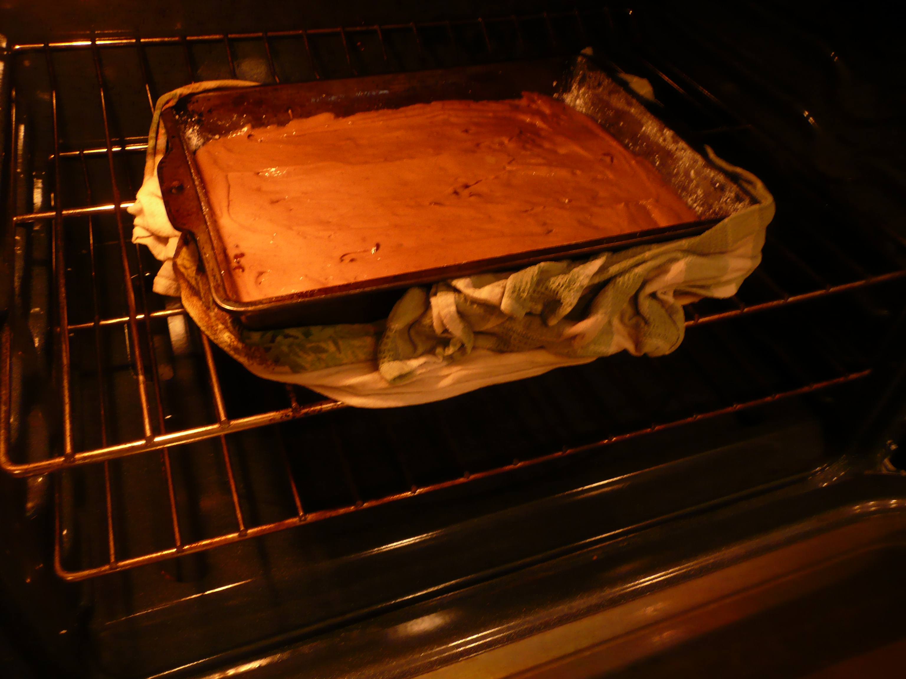 bake a cake This cake was sent home from our children's school it is the simplest, great  tasting cake i've ever made great to make with the kids, especially for cupcakes.