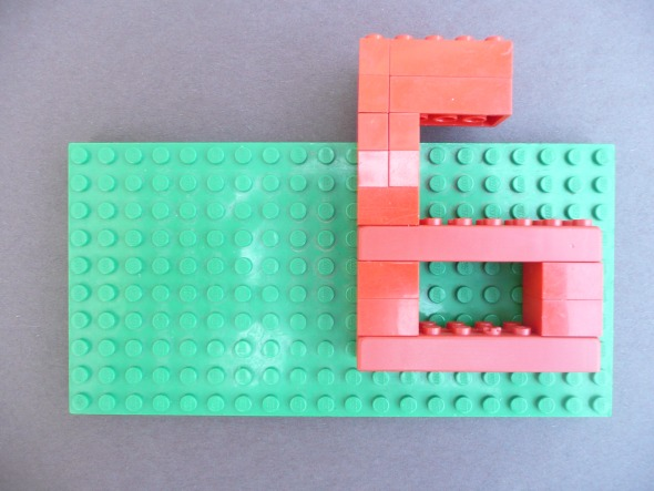 Simple Lego Party Decorations and Invitations