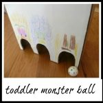 Toddler MONSTER ball game