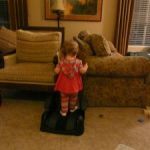 Toddler Tuesday… obstacle course
