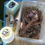 Toddler Tuesday… FALL sensory bucket