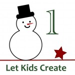 Creative Christmas Countdown… Day 1 Let kids create