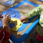 Toddler Tuesday… sticky SHAPES