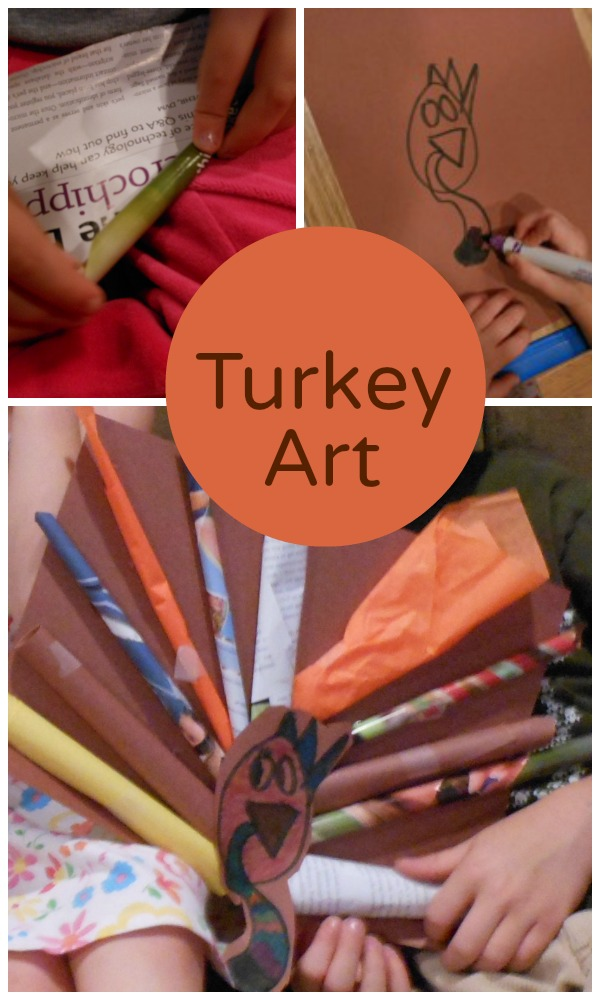 Mixed Media Turkey Picture