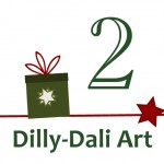 Creative Christmas Countdown… Day 2 Dilly-Dali Art