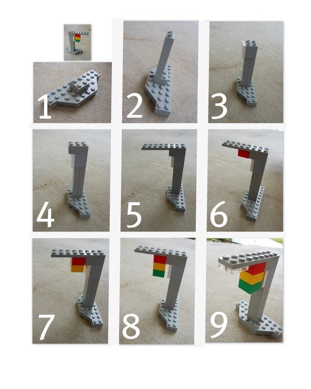 Home made Lego instructions - great way to get kids to understand how to teach something they love