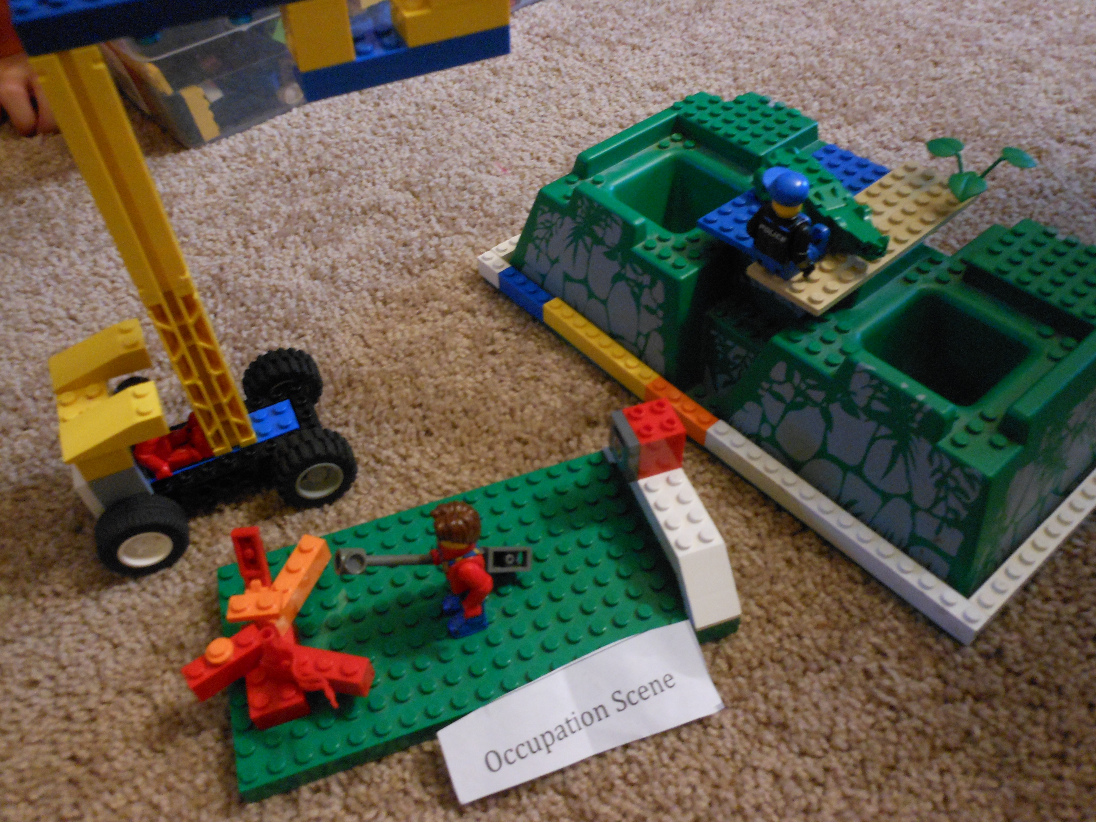 A Homemade Game For The Family Lego Challenge
