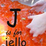 J is for Jello p
