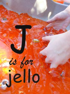 Letter of the Week – Letter J – Jello