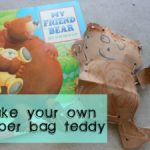 My Friend Bear… make a paper bag teddy