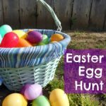 good old fashion EASTER egg hunt