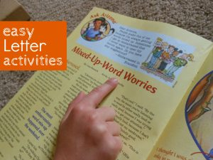 Letter of the Week – Letter L – Letter Activities