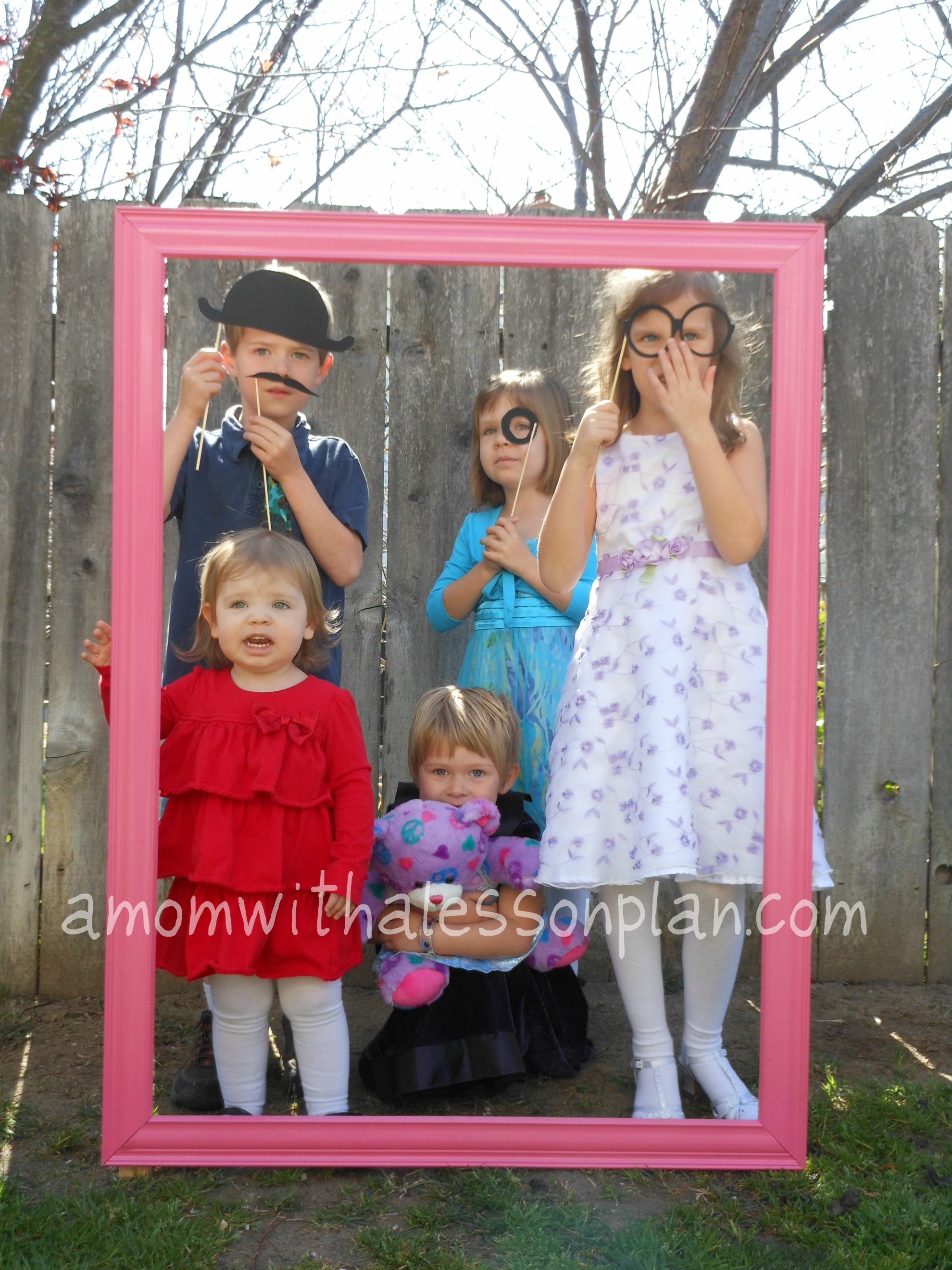 TEA PARTY... frame photo props| CMP