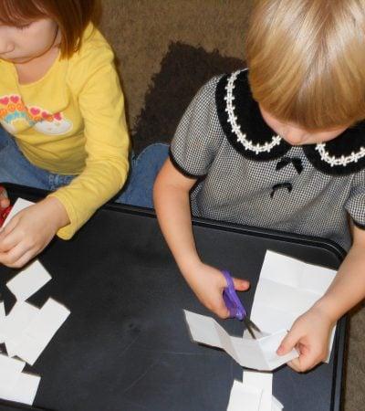kid made STORYTELLING cards