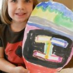 Water Color Paintings – Easter Art Activity for Kids