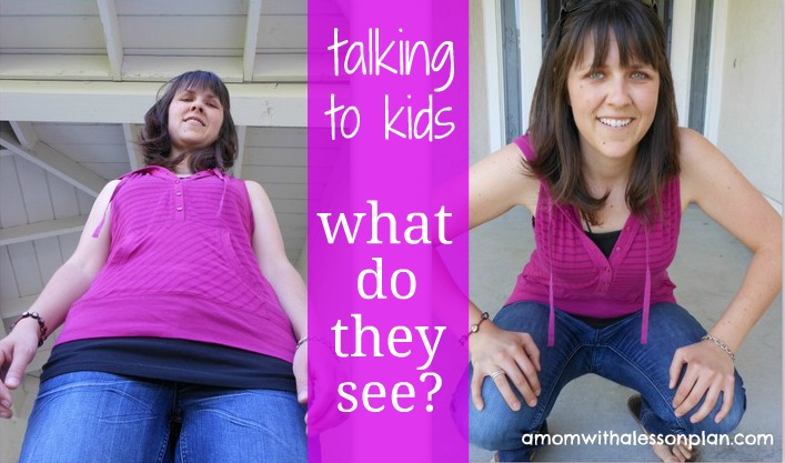 such a simple trick to connect with kids - and oh so important!