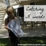 Letter of the week ~ Letter N ~ Catching N Words
