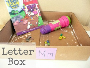 Letter of the week ~ Letter M ~ M Box