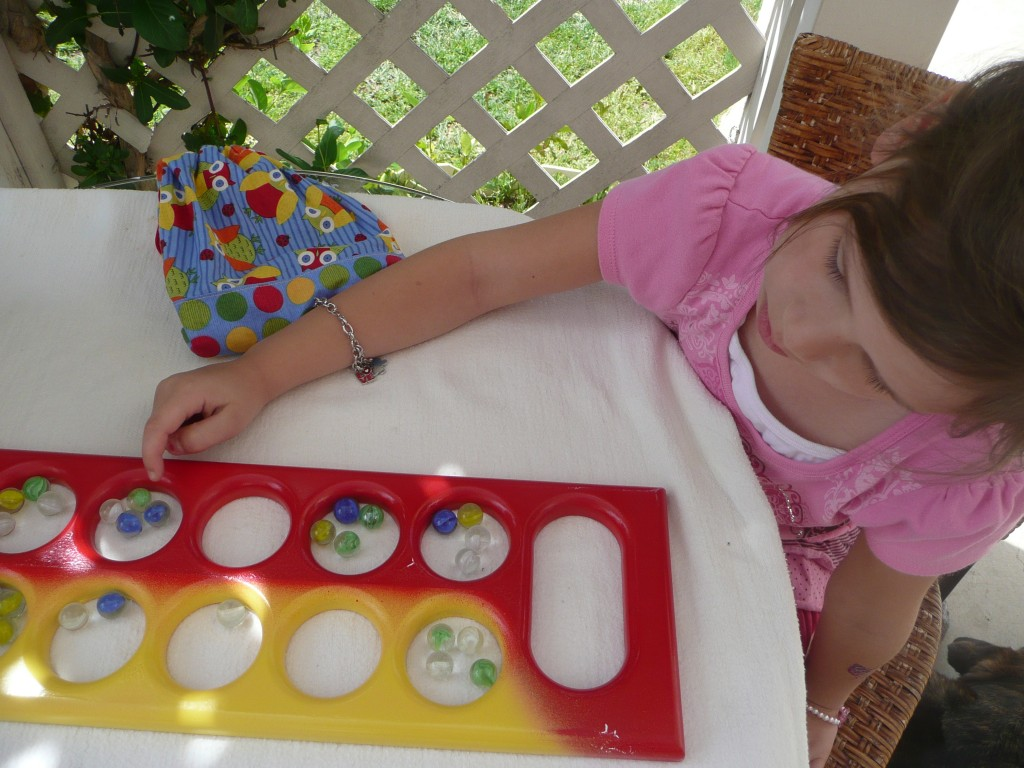 How to play Mancala. It's so fun introducing games I loved as a kid!