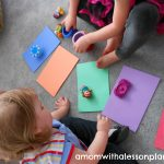 Toddler color matching