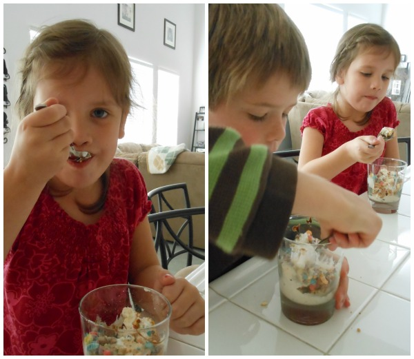 ice cream bar - great sleepover food idea!