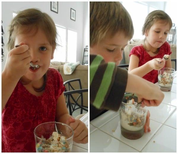 ice cream bar - great sleepover food idea!