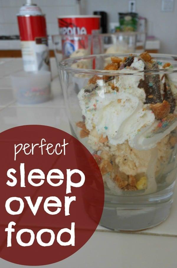sleepover food ideas that rock